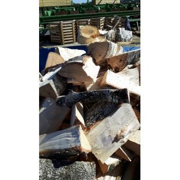 Štípané palivové dřevo měkké - sypané